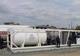 «Газпром трансгаз Екатеринбург» приступил к опытной эксплуатации мобильной АЗС
