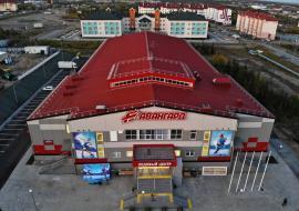 «Газпром нефть» построила в Лабытнанги ледовый дворец