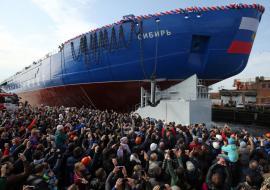 ММК снабдил сталью ледоколы «Арктика», «Сибирь» и «Урал»