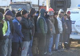 В Екатеринбурге после рейда полиции из страны выдворили 22 мигранта