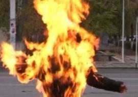 Жителя Копейска сожгли живьем на улице