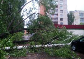 Ураган оставил без электричества район Красноуфимска