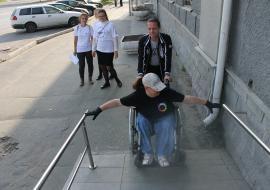 ОНФ заявил об опасности для инвалидов Кургана