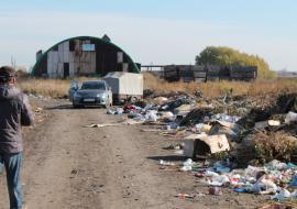 В Тюменской области на сельхозземлях обнаружена свалка медицинских отходов