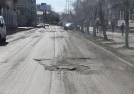 ОНФ заставил власти Кургана ремонтировать дороги