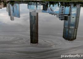 Росприроднадзор обвинил строителей в загрязнении Городского пруда Екатеринбурга