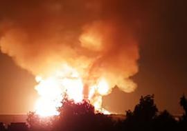 В ХМАО прогремел взрыв на объекте «Газпром трансгаз Югорск»