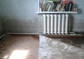 Власти свердловского муниципалитета поселили сирот в затопленный дом