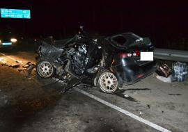 На Серовском тракте в смертельном ДТП столкнулись три машины