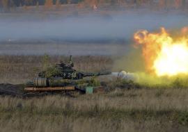 На Урале из танков расстреляют ракетные комплексы