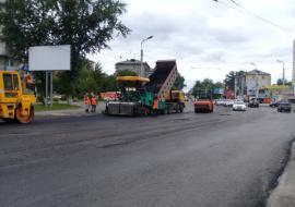 Курганские власти отказались от дорожного ремонта