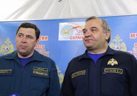 Пучков наградит спасателей за оперативное тушение ККТ «Космос»