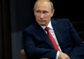 Путин в Екатеринбурге 2015