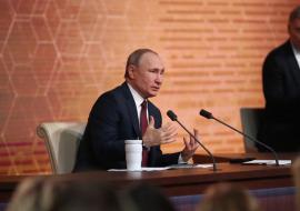 Путин проигнорировал просьбу о финансировании моста через Обь в ЯНАО