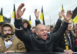 В Екатеринбурге согласовали «Русский марш»