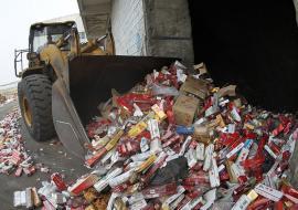 Роспотребнадзор забраковал 80% табачной продукции в Свердловской области