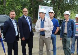 Заместитель Дубровского проинспектировал стройку в Карабаше
