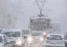 МЧС предупредило о мокром снеге и штормовом ветре в Свердловской области