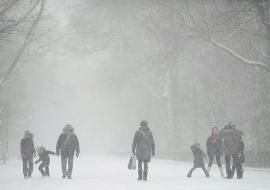 На Свердловскую область надвигается снежная буря
