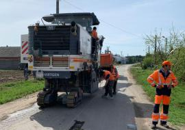 В Тюменском районе отремонтируют 92 километра дорог