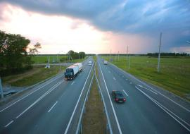 В Челябинской области начался масштабный ремонт трассы М5 на подъезде к Екатеринбургу