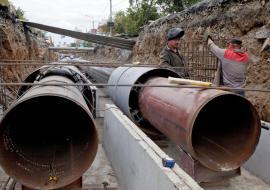 Жилые дома на Юго-Западе Екатеринбурга остались без горячей воды из-за аварии на сетях ЕТК