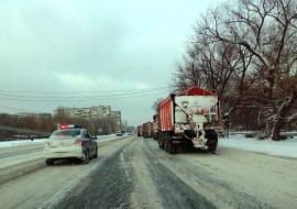 Прокуратура направила предостережение «Южуралмосту» за некачественную уборку дорог в Челябинске