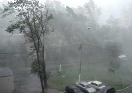 На Урал надвигается ураган