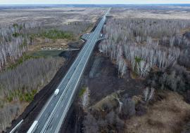 Уралуправтодор потратит на ремонт автодороги Екатеринбург – Тюмень 104 миллиона