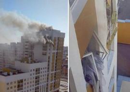 В Екатеринбурге из-за взрыва эвакуировали подъезд жилого дома