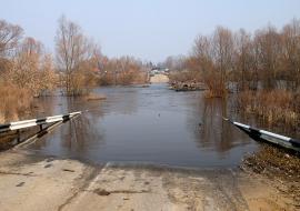 В Свердловской области ушло под воду 10 мостов