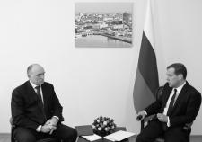 Дубровский нашел дорогу к Медведеву