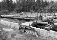 Разрушенные очистные на каскаде озер Кисегач