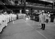 Губернатор Челябинской области Борис Дубровский встречается с работниками предприятия