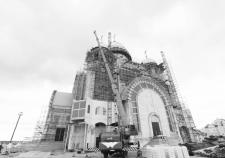 Строительство храмового комплекса в Салехарде