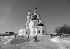 Храм во имя Трех Святителей в селе Карачельском Шумихинского района
