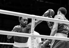 Фрагмент боя на чемпионате мира по боксу в Екатеринбурге