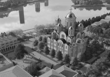 Проект храма Святой Екатерины на улице Горького в Екатеринбурге