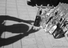 Продбезопасность Тюмени подорвали контрафактным алкоголем