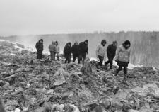 Люди Козицына «горят» на свалке