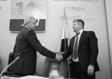Владимир Мякуш и Станислав Мошаров