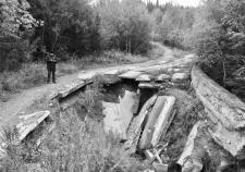 Ханты-Мансийск, опасная дорога по ул. Сутормина