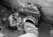 Ремонтные работы на сетях водоснабжения