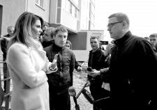 Глава Челябинской области Алексей Текслер встречается с дольщиками
