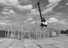 Строительство рынка в Мужах