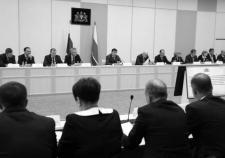 Совещание с руководителями муниципалитетов
