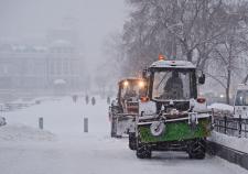 В Екатеринбург придет мощный московский снегопад