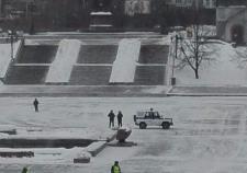 В Екатеринбурге оцепили Исторический сквер