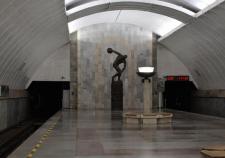 Станцию метро «Динамо» в Екатеринбурге снова «заминировали»