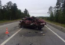 В ДТП на трассе Нижневартовск – Излучинск погиб водитель «Хенде»